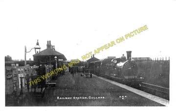 Gullane Railway Station Photo. Aberlady and Longniddry Line. North British. (1)