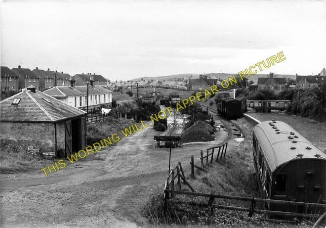 Gullane Railway Station Photo. Aberlady and Longniddry Line. North British. (2)