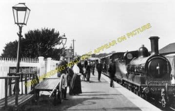 Haddington Railway Station Photo. Longniddry Line. North British Railway. (2)