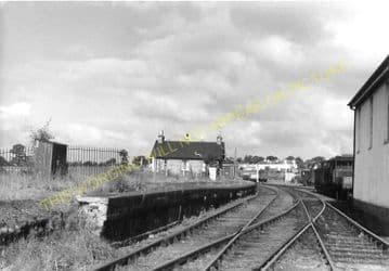 Haddington Railway Station Photo. Longniddry Line. North British Railway. (3)