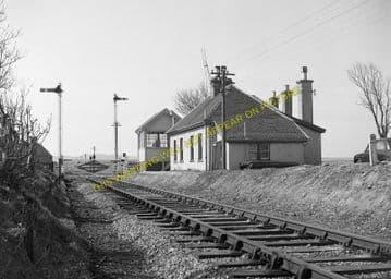 Halkirk Railway Station Photo. Georgemas - Scotscalder. Highland Railway. (1)