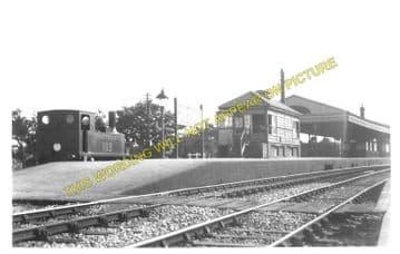 Hamworthy Junction Railway Station Photo. Broadstone - Wareham. L&SWR. (2)