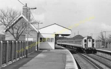Hamworthy Junction Railway Station Photo. Broadstone - Wareham. L&SWR. (6)