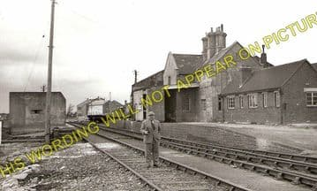 Hamworthy Railway Station Photo. Broadstone Line. London & South Western Rly (1)