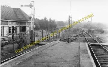 Haven Street Railway Station Photo. Newport - Ashey. Isle of Wight. (2)