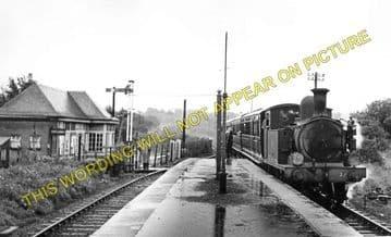 Haven Street Railway Station Photo. Newport - Ashey. Isle of Wight. (4)