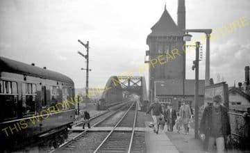 Hawarden Bridge Railway Station Photo. Shotton - Burton Point. Great Central (4).