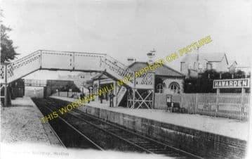 Hawarden Railway Station Photo. Buckley - Shotton. Great Central Railway (2)