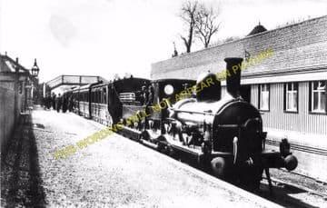 Hawarden Railway Station Photo. Buckley - Shotton. Great Central Railway (3)