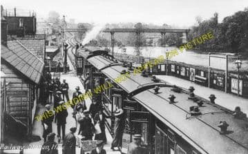 Hay-on-Wye Railway Station Photo. Glasbury to Whitney and Clifford Lines. (3)