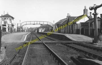 Hay-on-Wye Railway Station Photo. Glasbury to Whitney and Clifford Lines. (4)