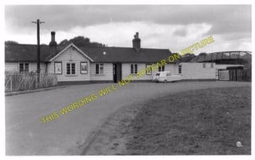 Hay-on-Wye Railway Station Photo. Glasbury to Whitney and Clifford Lines. (6)