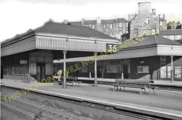 Haymarket Railway Station Photo. Edinburgh - Saughton. North British Railway (5)