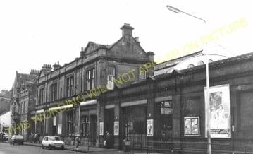Helensburgh Central Railway Station Photo. Craigendoran Line. (6)
