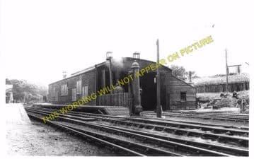 Helmsdale Railway Station Photo. Loth - Kildonnan. Brora to Kinbrace Line (16)