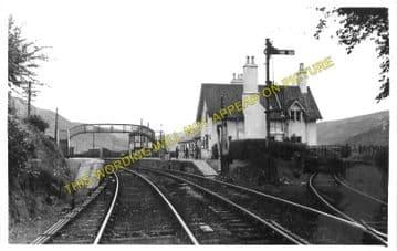 Helmsdale Railway Station Photo. Loth - Kildonnan. Brora to Kinbrace Line (2)