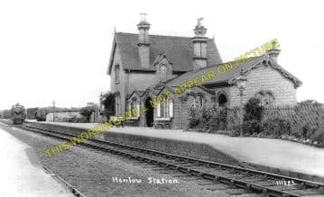 Henlow Railway Station Photo. Hitchin - Shefford. Bedford Line. Midland Rly. (1)..