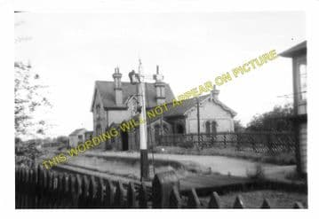Henlow Railway Station Photo. Hitchin - Shefford. Bedford Line. Midland Rly. (7)