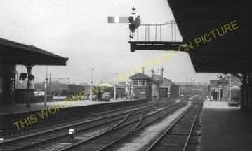 Hereford Barrs Court Railway Station Photo. Great Western Railway (10)