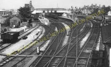 Hereford Barrs Court Railway Station Photo. Great Western Railway (11)