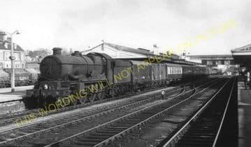 Hereford Barrs Court Railway Station Photo. Great Western Railway (12)