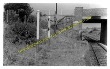 High Town Railway Station Photo. Wrexham - Marchwiel. Ellesmere Line. (2)