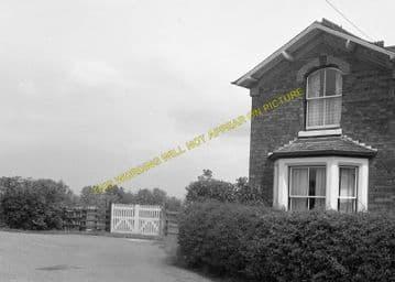 Higham-on-the-Hill Railway Station Photo. Nuneaton - Stoke Golding. (1)..