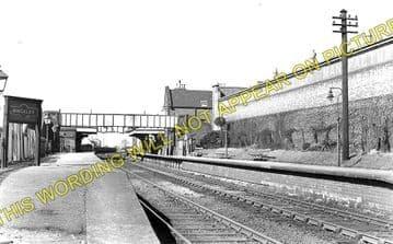 Hinckley Railway Station Photo. Nuneaton - Elmesthorpe. Narborough Line. (1)