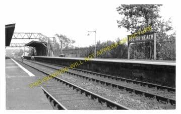 Holton Heath Railway Station Photo. Hamworthy - Wareham. Poole to Wool Line. (2)..