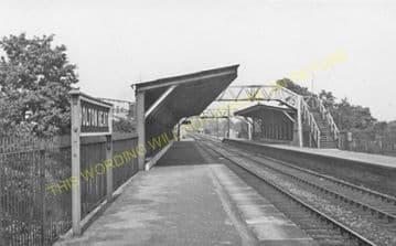 Holton Heath Railway Station Photo. Hamworthy - Wareham. Poole to Wool Line. (3)
