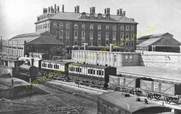 Holyhead Railway Station Photo. London & North Western Railway. (18)