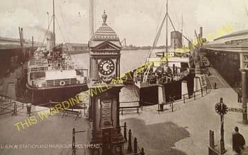 Holyhead Railway Station Photo. London & North Western Railway. (21)