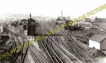 Holyhead Railway Station Photo. London & North Western Railway. (4)