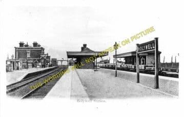 Holywell Junction Railway Station Photo. Mostyn - Bagillt. Prestatyn Line. (2)