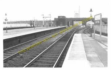 Holywell Junction Railway Station Photo. Mostyn - Bagillt. Prestatyn Line. (3)