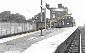 Holywell Junction Railway Station Photo. Mostyn - Bagillt. Prestatyn Line. (4)