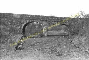 Holywell Town Railway Station Photo. Holywell Junction Line. L&NWR. (12)