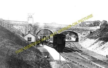 Holywell Town Railway Station Photo. Holywell Junction Line. L&NWR. (3)
