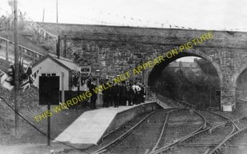 Holywell Town Railway Station Photo. Holywell Junction Line. L&NWR. (4)