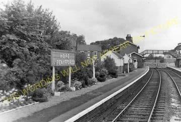 Hope & Penyffordd Railway Station Photo. Kinnerton - Padeswood & Buckley. (3)