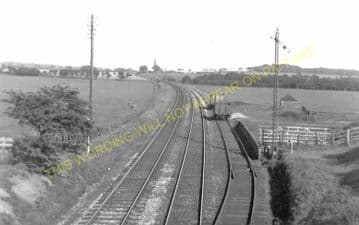 Houston Railway Station Photo. Paisley - Bishopton. Georgetown. Caledonian. (2).