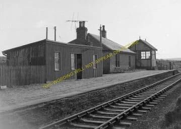 Hoy Railway Station Photo. Georgemas Junction - Thurso. Highland Railway. (1)..