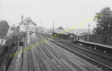 Humberstone Railway Station Photo. Leicester - Thurnby & Scraptoft. (3)