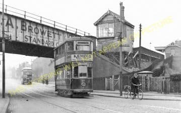 Humberstone Railway Station Photo. Leicester - Thurnby & Scraptoft. (5)