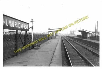 Humberstone Road Railway Station Photo. Leicester- Syston. Loughborough Line (1)..