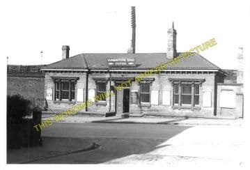 Humberstone Road Railway Station Photo. Leicester- Syston. Loughborough Line (2)
