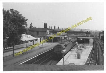 Huntingdon North Railway Station Photo. Offord & Buckden - Abbots Ripton. (4)