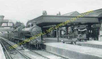Huntingdon North Railway Station Photo. Offord & Buckden - Abbots Ripton. (8).