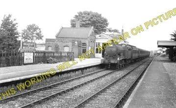 Ingersby Railway Station Photo. Lowersby - Thurnby & Scraptoft. (1)