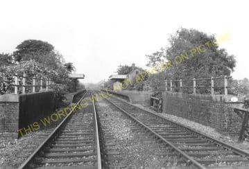 Ingersby Railway Station Photo. Lowersby - Thurnby & Scraptoft. (4)